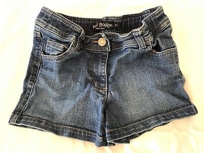 Mini Boden Jean Shorts - Girls Size 8