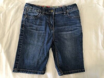 Mini Boden Jean Shorts - Girls Size 10