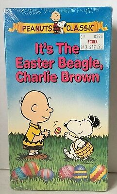 Vintage VHS It's the Easter Beagle, Charlie Brown. Peanuts Classics . New Sealed