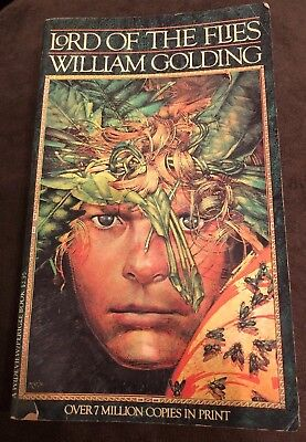 Lord Of The Flies (1954) Paperback Book Fiction Excellent Condition