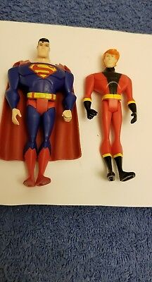 Justice League Unlimited JLU DC Comics Superman Elongated Man