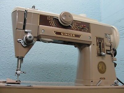 Heavy Duty Industrial Strength Singer 401 A Sewing Machine-All Steel