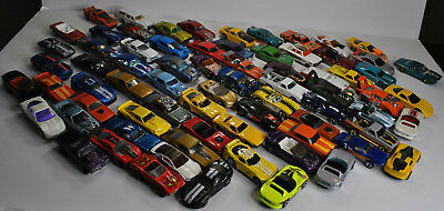 Hot Wheels American Muscle Car lot 73 Cars Total Ford Chevy Dodge Pontiac More
