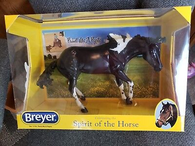 Breyer Traditional - Working Cow Horse - Paint Me A Pepto - NIB!