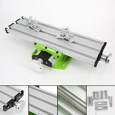 Double track Worktable Work Table Slide Drill Press Fixture Quenching jaw plate