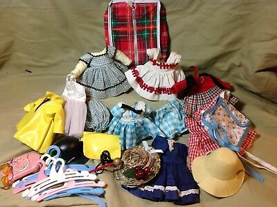 Vintage Lot of Tagged Vogue Ginny Dresses and some Accessories