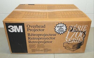 New!! NOS!! Vtg 3M OVERHEAD PROJECTOR #1720 1700 Series (Great For Classrooms!)
