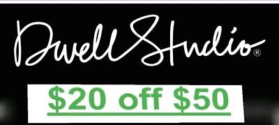 Dwell Studio $20 off $50 or More for New Customers—💯% POSITIVE! FAST SHIPPING!!