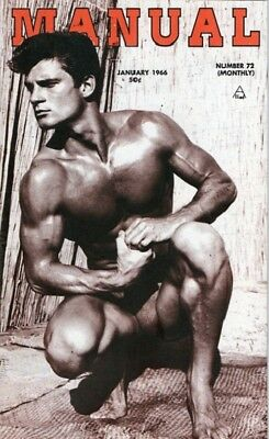 d06bb58581a Rare Manual #72 January 1966! Male Beefcake Physique Bodybuilding! Gay Int!