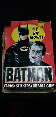 Batman Movie Trading Cards -1st Series (Topps, 1989) (1) Wax Pack