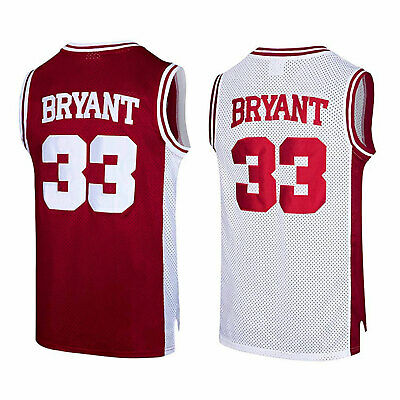 0f6515c6dbb Kobe Bryant  33 Lower Merion High School Basketball Jersey Shirt Stitched  S-XXXL