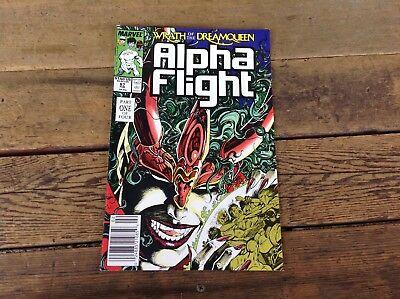 1988 Marvel Comics Alpha Flight #67 Wrath of the Dream Queen