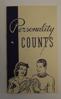 National Dairy Council Personality Counts Mildred Perrigo 1942 Milk Teenager Vtg