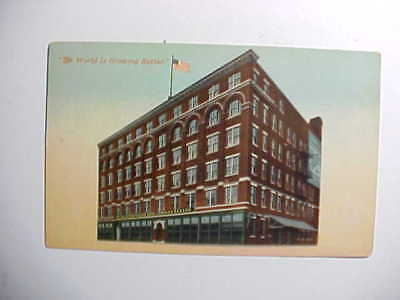 1910 Cincinnati Geo. Strietmann's Sons Bakers Building With Advertising Vg+