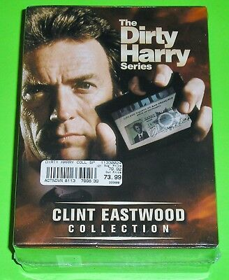 The Dirty Harry Series (DVD, 5-Disc Set, The Clint Eastwood Collection) NEW