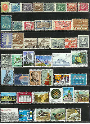 Iceland : Very Nice Lot Of Older Issues! Don't Miss!