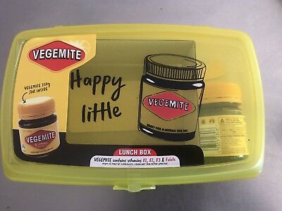 Collectable Ltd Edition Vegemite Lunchbox 2019 Back To School.