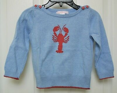 Janie & Jack Nantucket Lobster Sweater  18-24 mos. NEW