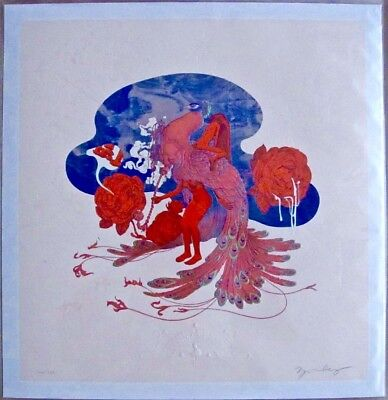 """James Jean """"max Pipe"""" 2017 Igiclee Print S/n *sold Out*"""
