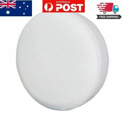 """Spare Tire Cover, 15"""" Pure White Wheel Tyre Covers For All Vehicle Accessories"""