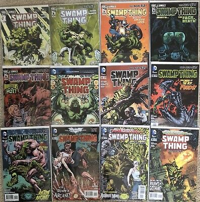 SWAMP THING Comic Lot Scott Snyder New 52 1 2 3 4 5 7 8 9 10 11 12 15