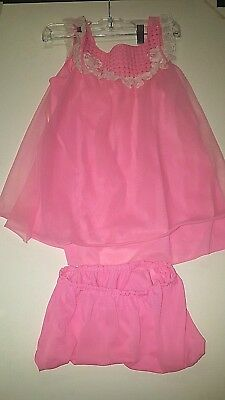 Vintage 1950's/1960's Pink Baby Doll