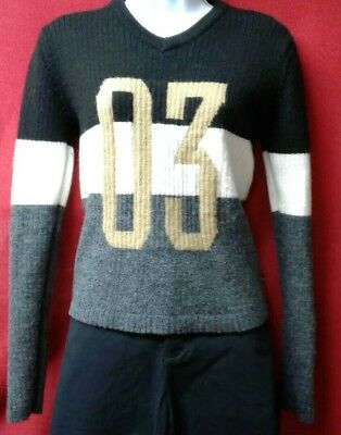 Ladies Large Harley Davidson Sweater 100% Wool
