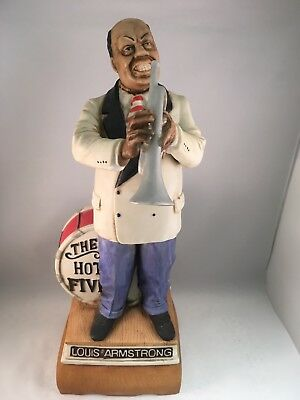 Vintage Louis (Satchmo) Armstrong Limited Edition McCormick Liquor Decanter