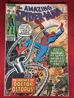 """The Amazing Spider-Man #88 (Sep 1970, Marvel) """"The Arms Of Doctor Octopus"""""""