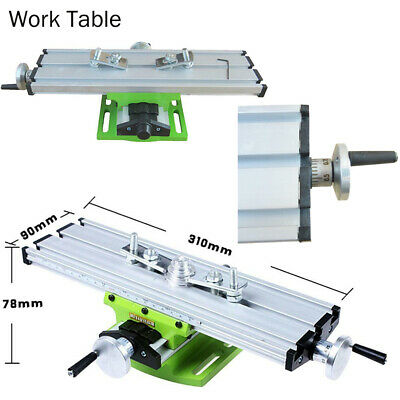 Mini Work Table Bench Vise Bench Drill Milling Machine Assisted Positioning Tool