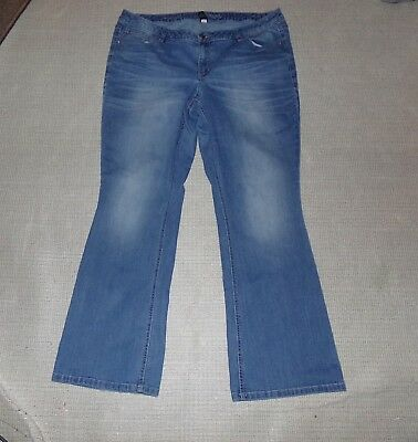 Womens Lane Bryant Low Rise Boot Jeans Sz 20