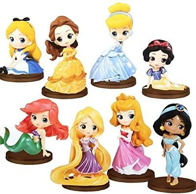 Disney Characters Q posket petit -Girls Festival- all eight set Alice B... Japan