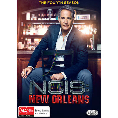 NCIS NEW ORLEANS Season 4 (Region 2 UK Compatible) DVD The Complete Series