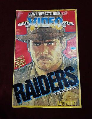 Vintage The Video Age Book Magazine Holiday Issue December 1983 Harrison Ford