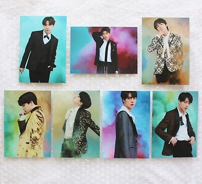 BTS x VT Nature Collection Ver. A Photocard JUNGKOOK V RM JIMIN SUGA JHOPE JIN