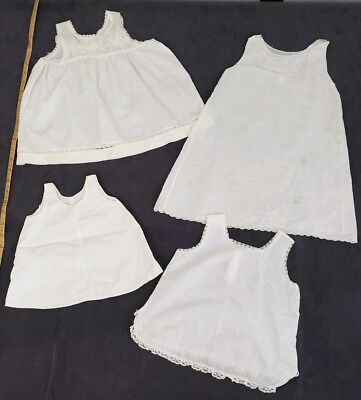 Vintage Baby Gowns Her Majesty Baby Slips Tank Dress Tunic Cotton Embroidered C
