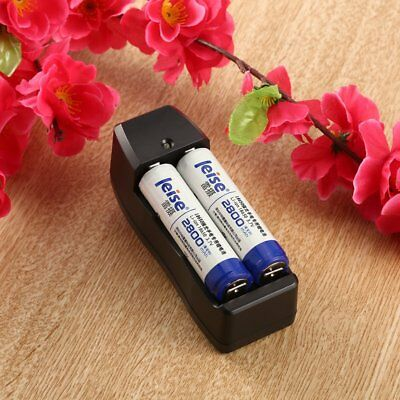 Dual Battery Charger for 18650 16340 CR123A Rechargeable Li-ion Battery 1S