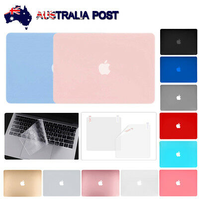 "Fr 2018 New MacBook Air 13"" A1932 Rubberised Hard Shell Case+Keyboard Cover+LCD"