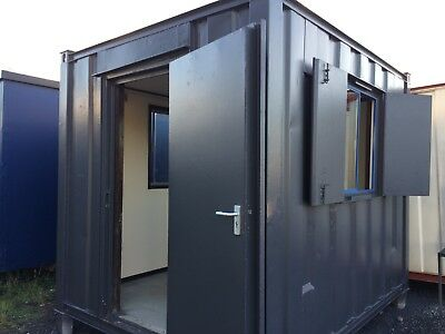 10x8ft Anti Vandal Site Office / Gate House / Portable Building / Site Cabin