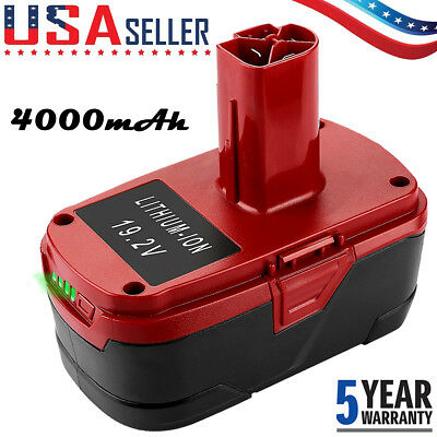 4.0AH Of CRAFTSMAN 19.2VOLT C3 LITHIUM DIEHARD BATTERY PACK 315.PP2011 130279005