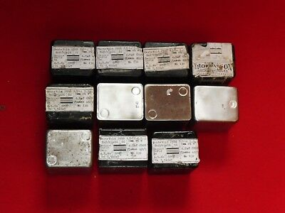 Thordarson (WE) OutPut Tube Transformers 6000 Ohms 16O hms 25W Lot 11 pieces