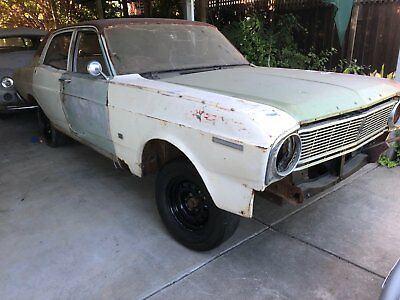 Ford Xt Falcon 500 V8 Has Rust In Floors And The V8 Is Out Of A Au Project Car