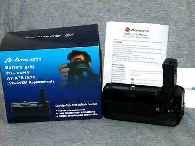 PowerExtra VG-C1EM Battery Grip in box for Sony A7 A7S A7R, AVIA w/tracking