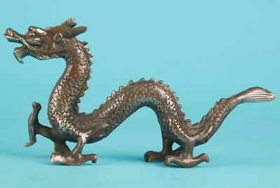 Unique Chinese Bronze Statue Animal Dragon Mascot Home Decoration Collec Gift