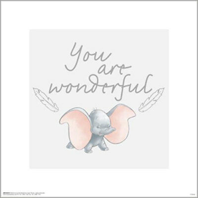 Dumbo Classic - Wonderful POSTER PRINT 40x40cm BRAND NEW