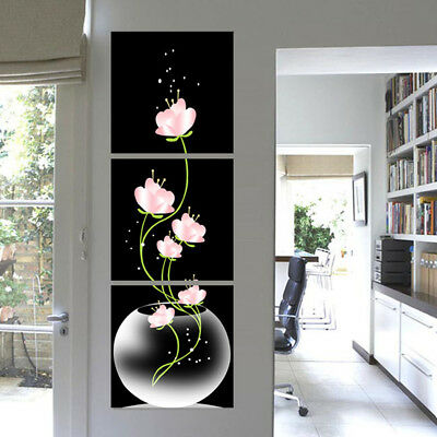 3Pcs Modern Abstract Art Canvas Oil Painting Picture Print Room Home Wall Decor
