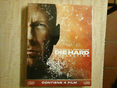 Die Hard Collection (4 Blu-Ray Disc) - ITALIANO ORIGINALE SIGILLATO