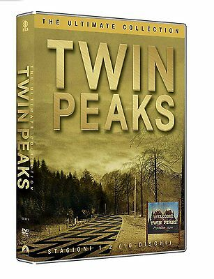 Twin Peaks - The Ultimate Collection (10 DVD) - ITALIANO ORIGINALE SIGILLATO -