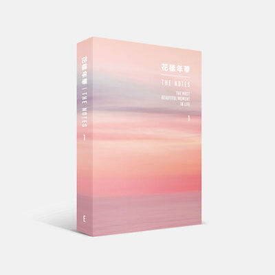 BTS 花樣年華 THE NOTES 1 English Ver Book+Special Note Book+Tracking Number