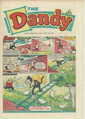 Dandy Comics. Sept 1967. Very Good Condition. Sept 9th, 16th, 23rd & 30th 1967.